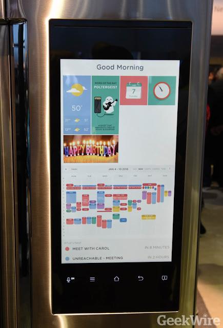 Tủ lạnh Samsung Family Hub trung tâm công nghệ ngay gian bếp