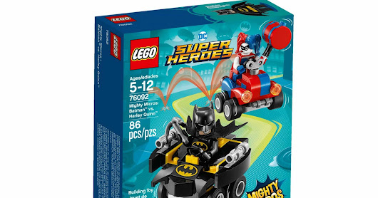 LEGO SET DATABASE LEGO 76092 Mighty Micros: Batman vs. Harley Quinn