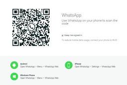Cara Menggunakan Aplikasi WhatsApp di Laptop dan Pc Tanpa Harus Instal 2019