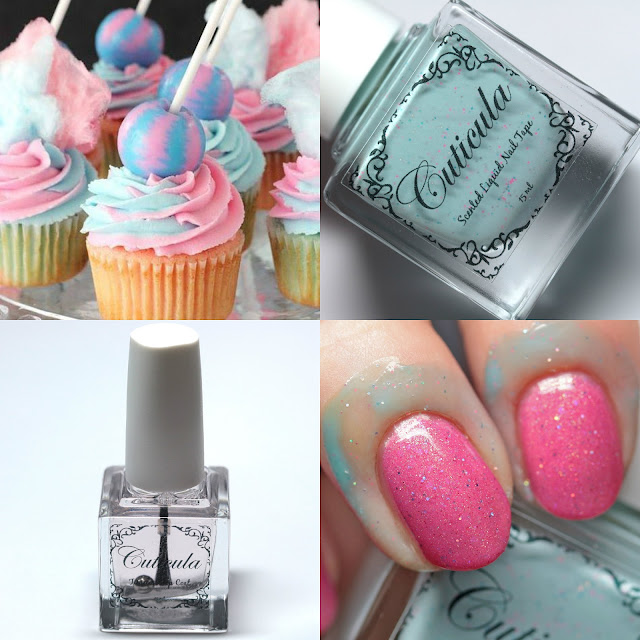 Cuticula Frosted Candy Scented Nail Tape