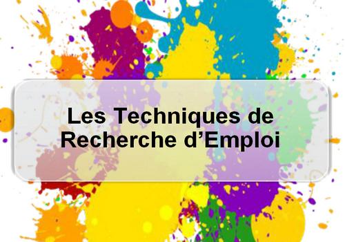 Les techniques de recherche d'emploi