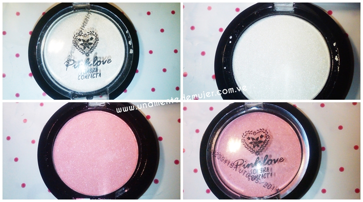 Sombras individuales Pink love