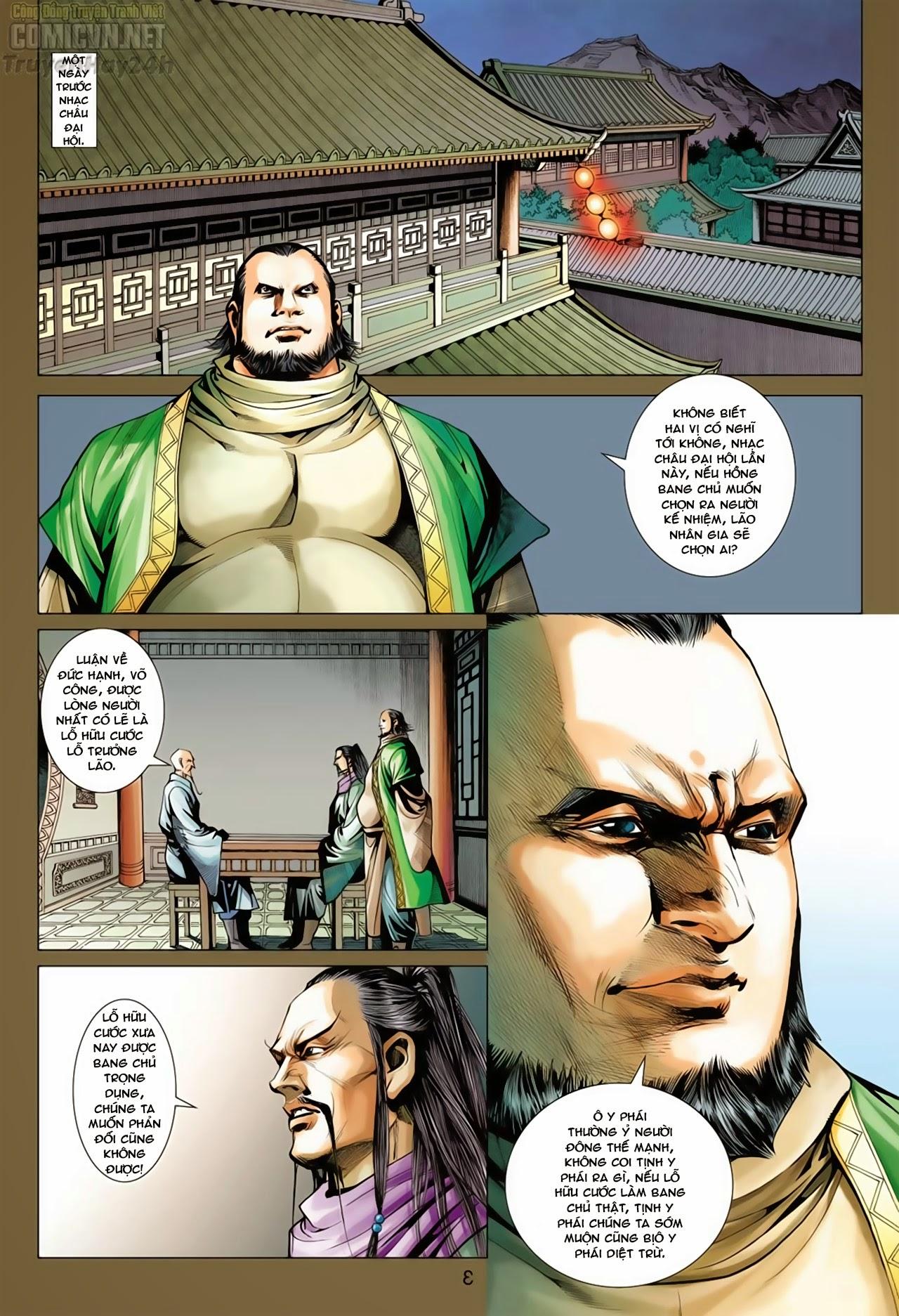 Anh Hùng Xạ Điêu anh hùng xạ đêu chap 66: nhạc châu đại hội trang 4