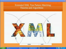 Extended XML Tree Pattern Matching