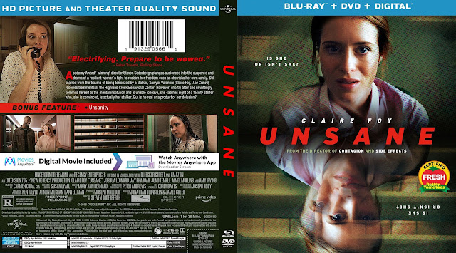Unsane (scan) Bluray Cover