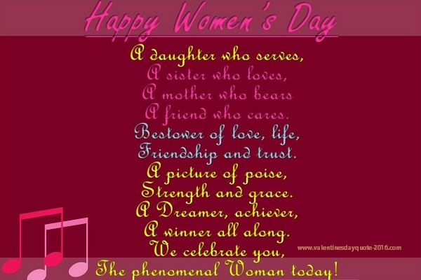 2017 womens day greeting
