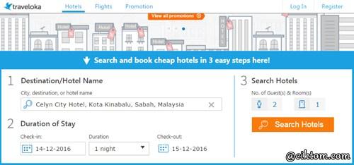 Pengalaman Booking Hotel Jimat Berganda di Traveloka