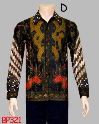 17 Contoh Model Baju Batik Simple Elegan Trend 2017