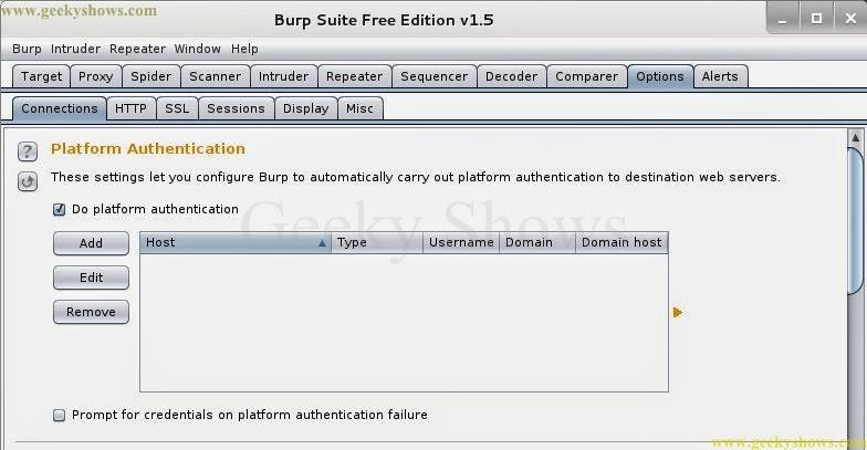 No 1 tech: Introduction Burp Suite Part IX (Option Tab)