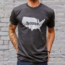 Home T shirts representing your Home State