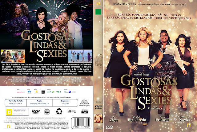 Capa DVD Gostosas Lindas & Sexies [Excluisva]