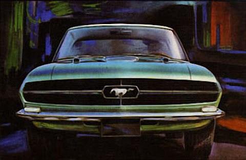 The Giugiaro Bertone Mustang