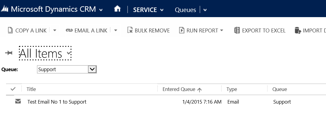 CRM Queue with a Office 365 Shared Mailbox Joe Gill Dynamics 365 Consultant