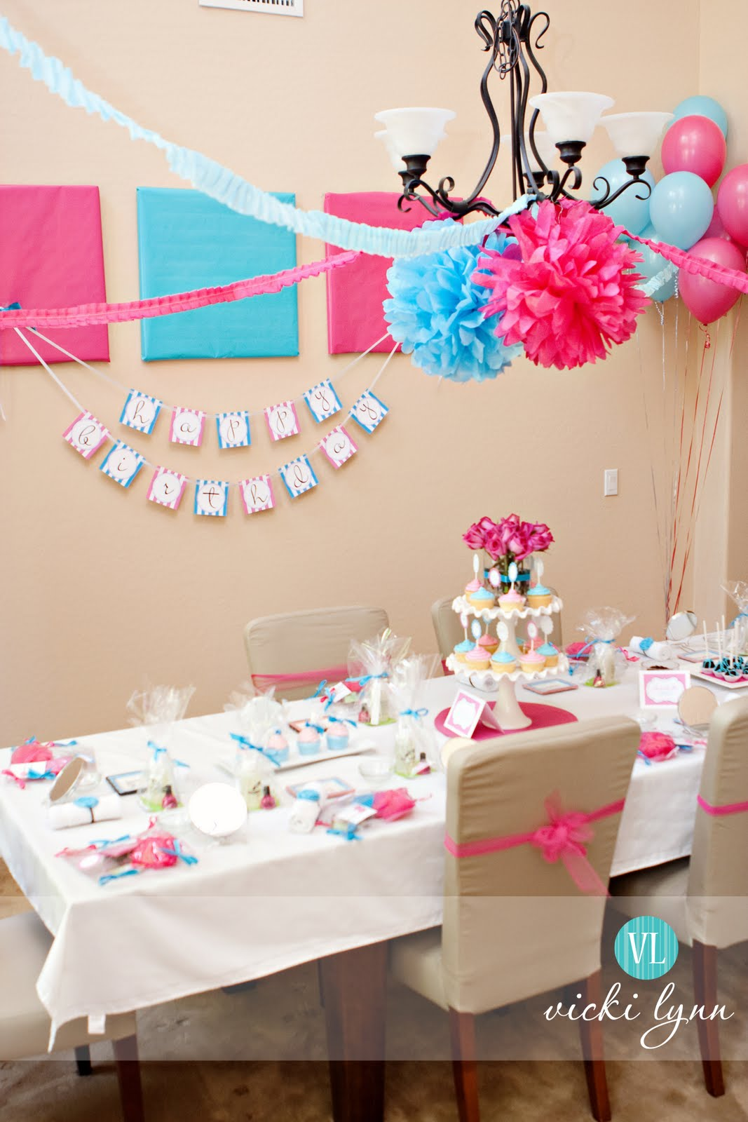Real Parties Sophie39s Fabulous Spa Birthday Party The