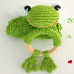 http://www.artedetei.com/2017/08/mordedor-rana-crochet-patron-gratis.html