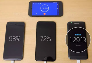 Fast Charging Pixel XL, iPhone 7 Plus dan Samsung S7 Edge