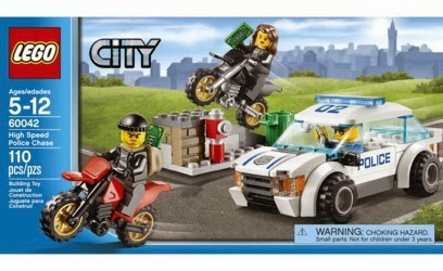 Lego High Speed Police Car Chase