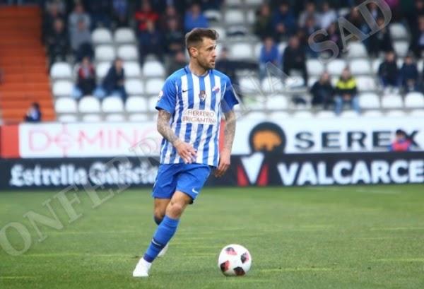 Oficial: Ponferradina, Jon García cedido al Racing de Ferrol