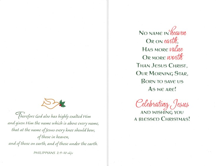 Favored Reviews: Names of Jesus Christmas Cards & Gifts