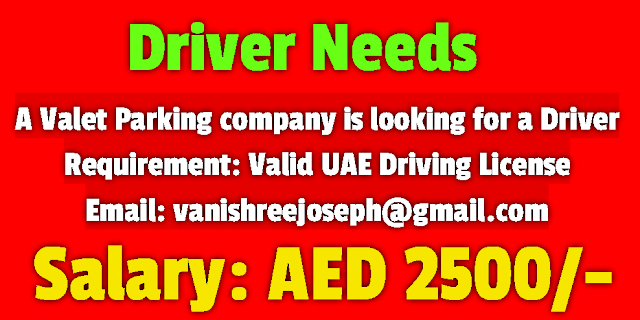 Gulf News Jobs Required Driver