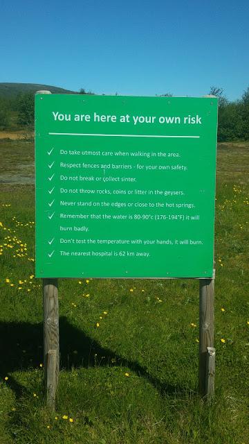 כללים למטייל באיסלנד - אתה מטייל על אחריותך בלבד