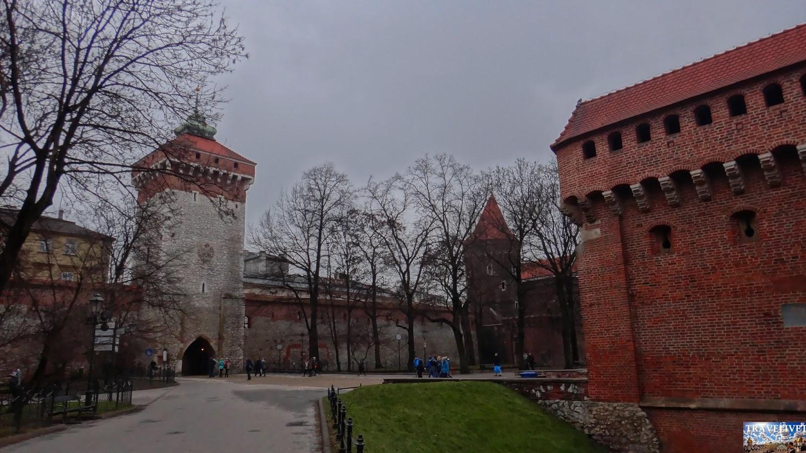Pologne Cracovie le château du Wawel