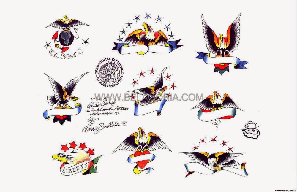 tatuajes de estilo tradicional americano