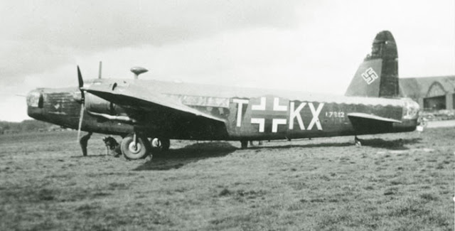 A Vickers Wellington Mk I captured by the Luftwaffe, 1941 worldwartwo.filminspector.com