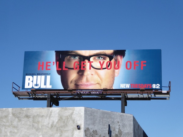 Bull series premiere billboard