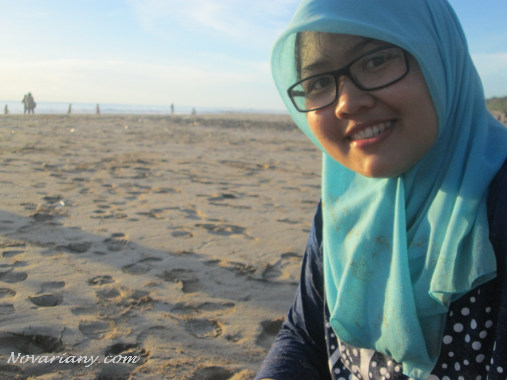 Me on Ujung Genteng Beach