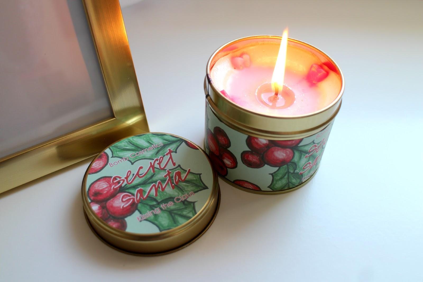 Bomb Cosmetics Candle Secret Santa