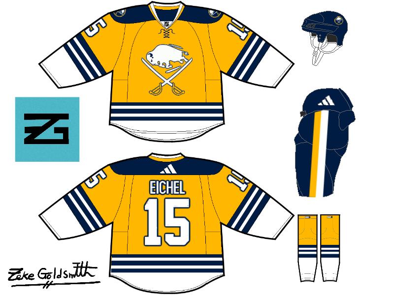 Friday: Shoulder Logos - HockeyJerseyConcepts