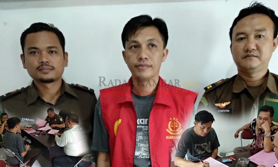 Zinur,  Oknum Pejabat Korupsi Dana Pilratin Ditahan
