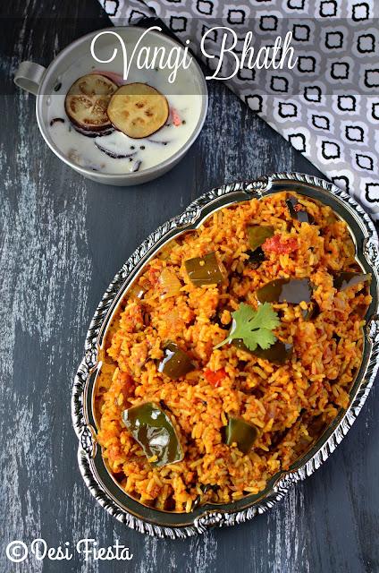 Brinjal rice recipes