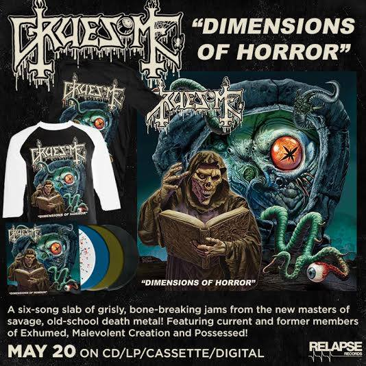 Detail from Gruesome New EP, Dimensions of Horror, Detail from Gruesome New EP Dimensions of Horror