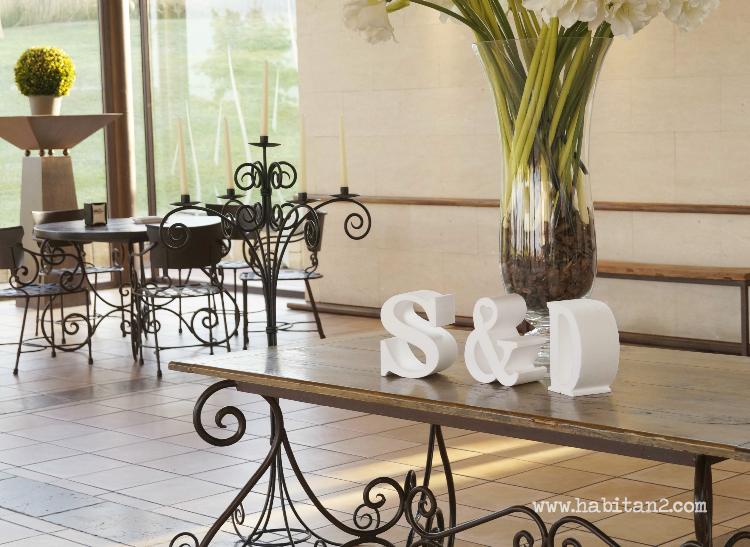 Letras porexpán gigantes para boda by Habitan2 | Event planner , eventos con toques handmade