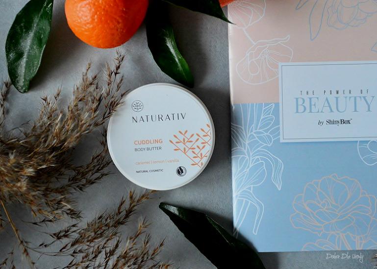 ShinyBox The Power of Beauty - Naturativ Otulające masło do ciała