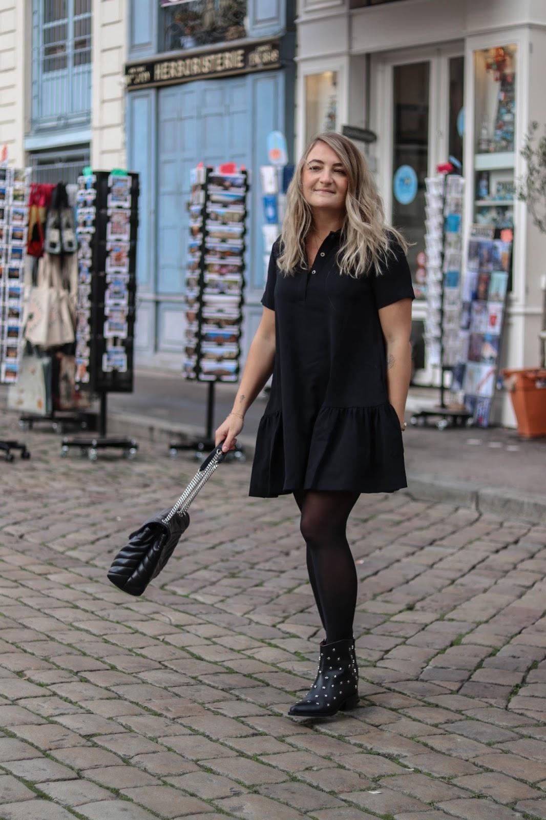 robe noire soldées place des tendances parisgrenoble