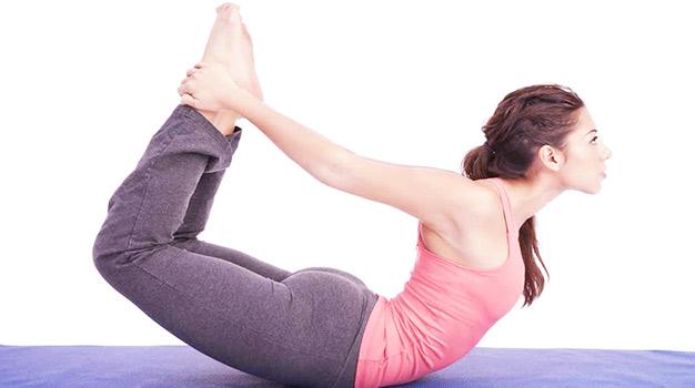 bow pose yoga