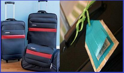 Marcar las maletas  La cinta americana de color también suele ser muy útil  para cuando quieres dar un toque personal a tus maletas para reconocerlas  ... 6e75fb5ec103