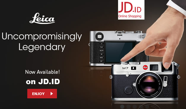 Kamera Leica Tersedia di JD.ID