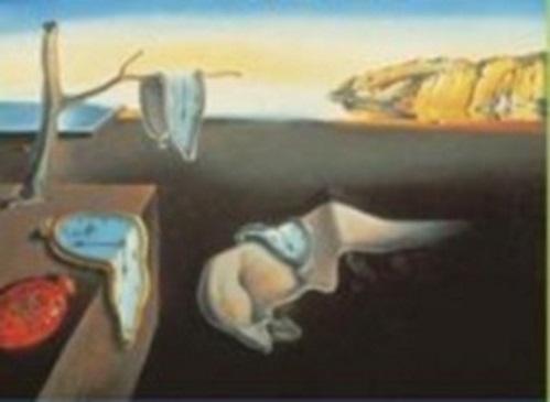 A Persistência da Memória, pintura de Salvador Dalí.