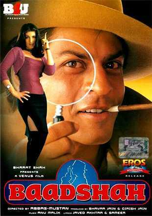 Baadshah 1999 Full Hindi Movie Download DVDRip 720p