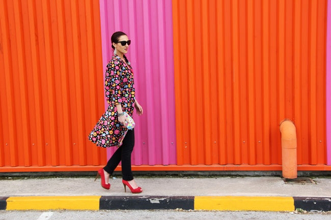 how to wear floral print and colors for spring without fear