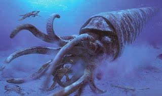 Moluscos y Artrópodos prehistóricos gigantes