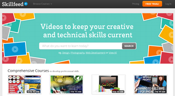 tutoriales y materiales educativos gratis en Skillfeed