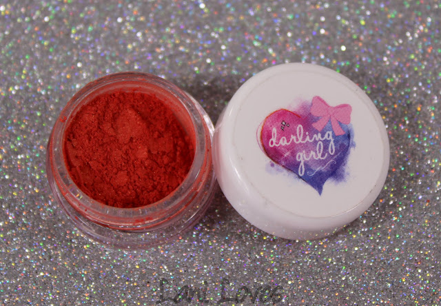 Darling Girl Inner Glow Blush - Passionate Poppy Swatches & Review