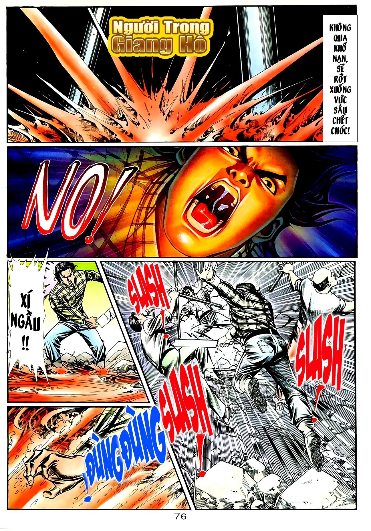 Người Trong Giang Hồ chapter 90: giang hồ hiểm trang 12
