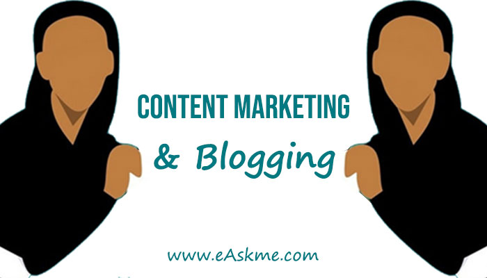 Blogging For Content Marketing: eAskme