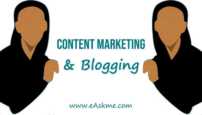 Blogging For Content Marketing: eAskme